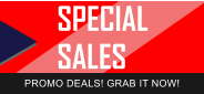 SPECIAL SALES PROMO DEALS! GRAB IT NOW!